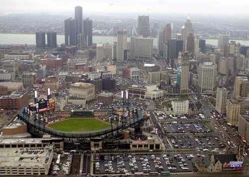From Above: Detroit via onemoretimewithfeeling: axelrod