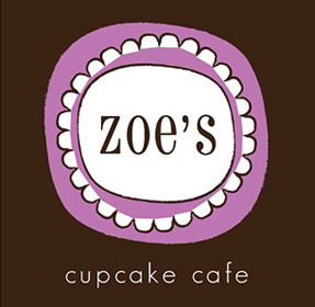 Identity Design Zoe's Cupcake Cafe (proceeds to benefit Zoe's Place) Spring 2009