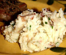 Cajun Bacon Mashed Potatoes