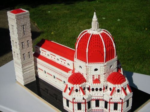 Florence Cathedral in LEGO by Arthur Gugick : MOCpages.com