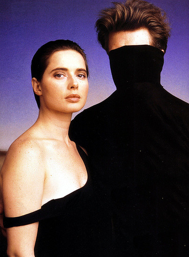 tylercoates:  Isabella Rossellini & David Lynch