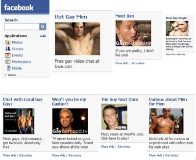 "peterwknox:  A collection of the gay ads constantly peppering my sidebar.  (my last post on this, I swear)  I was under the impression that Peter W. Knox, like most of the criminally ""undersexed"" Tumblr population, was up for a good tugjob, regardless of any gender or sexual normative. Slightly masking your homophobia: a reason to hate Tumblr."