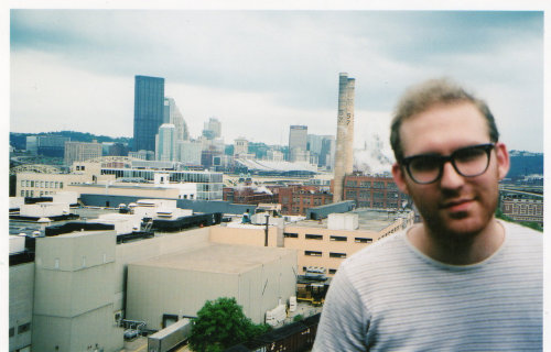 Twenty-two years old in Pittsburgh, 2002.