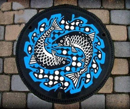 mudwerks: Painted Manhole Covers from Japan | Toxel.com