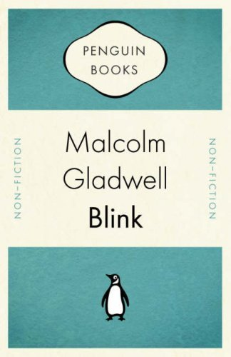 #52 (whoa!): Blink by Malcom Gladwell Here is what I love most about the human brain: it is the only organ that has the ability to understand itself. In other words, we need our brain to understand our brain. Blink puts this into perspective by using examples in which our brain, or unconscious, acts and then we later have to make sense of it. Gut instinct plays a huge role in our everyday actions, but we hardly notice it. Why is that? Gladwell argues that we should use our conscious to learn about these situations and then interpret them for later use. If we hone in on the skills of our unconscious, we can then become more aware of our surroundings. Some people are better at this than others, but everyone has the ability to train their initial reactions to things like lying, violence, love, and art. As I get older, I have come to trust my instinct more than my intellect, but I now realize that those two things are often one in the same. The brain is a powerful mechanism that works even when we don't realize it. So, acknowledge its beauty and allow it to do its job.  Side note: After reading Blink, I have a huge non-fiction crush on Malcom Gladwell. Who wouldn't want to hang out with this guy?