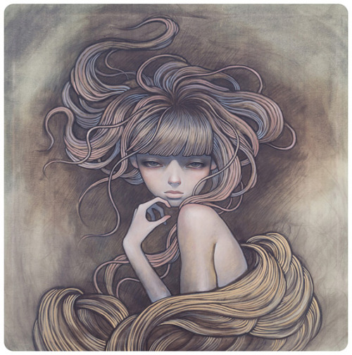 Audrey Kawasaki you are delicately perfect with your technique. www.audrey-kawasaki.com