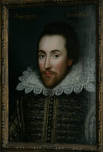 This portait of William Shakespeare unveiled on Monday is believed to be the only authentic image of the Bard painted during his lifetime. Associated Press has the full story and more images.