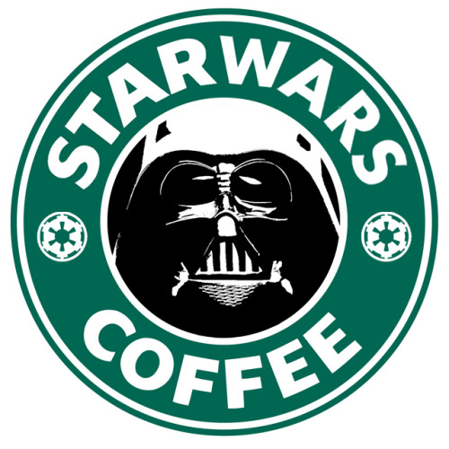 bitchville: Star Wars Coffee (via Deviantart)  Shit why can't I work there? Then I'd make lattes with the force and stuff. Oh and light saber steam wand or something. Lol. Srsly though the force choke alone would be worth it. Then again so would the whole force telekinesis thing… Double barring would really be impressive then. Lol.   I think I'm done.  Any ones I missed? If so reblog!