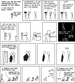xkcd - A Webcomic - Matrix Revisited