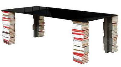 table for the book lovers - The 'Ex Libris' by MOCO