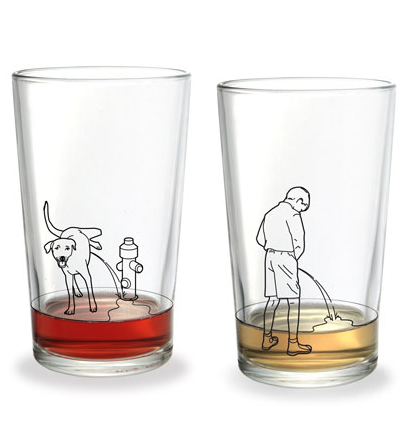 piss glass from donkey-products.com