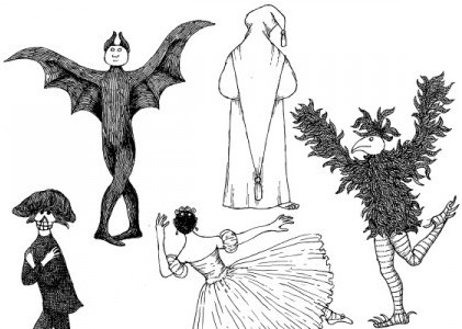 The Black Doll, Edward Gorey