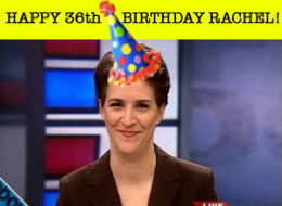 36? Ah, but she's but a baby! Happy Birthday, Rachel! trishtumbles: Happy birthday, boo.