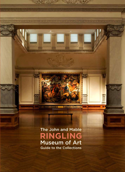 Hello again. This is a handbook for the Ringling Museum of Art. Do I wish I could have visited their compound in Florida during the construction of this book? I do. Alas, the trade does not work like that. This was a lively design and the pagination was fun to work out. Please do click-through. It's a nicely tricky piece of work.