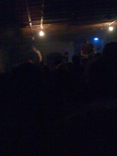 Somewhere in this crappy pucture, Russian Circles is playing an awsome show.