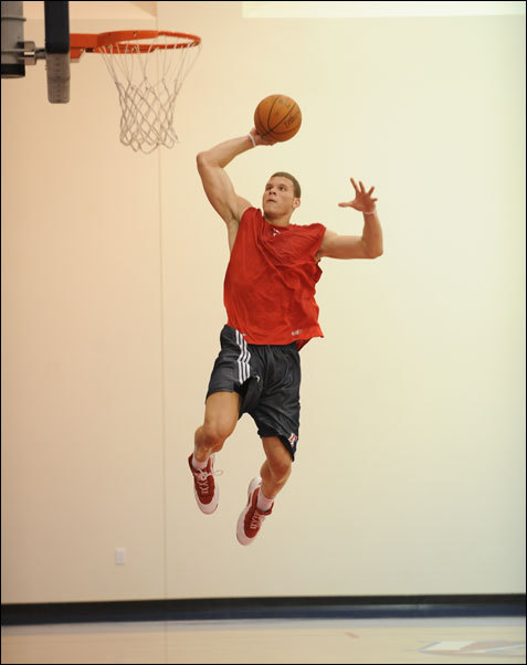 Blake Griffin's Pre-Draft Workout [with the Clippers] (6/6/09)  Wonder if Blake is following the phoney Mike Dunleavy on twitter…