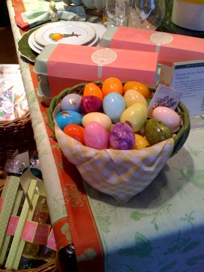 easter eggs @ Williams-Sonoma