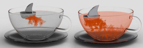 perhaps the dorkiest (…or the coolest) way to brew your tea.