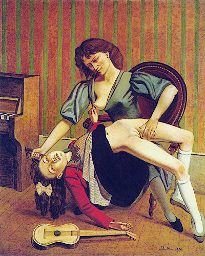 Balthus, The Guitar Lesson