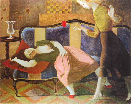 Balthus, The Dream I