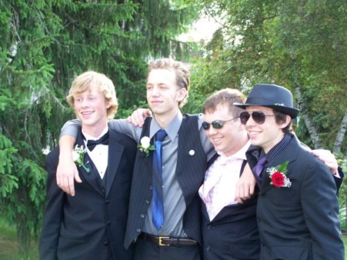 Graham School prom night! circa 2009