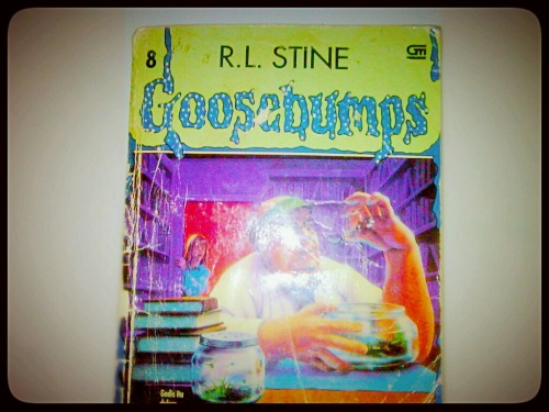 Buku goosebumps yg kesisa tinggal 1 – View on Path.