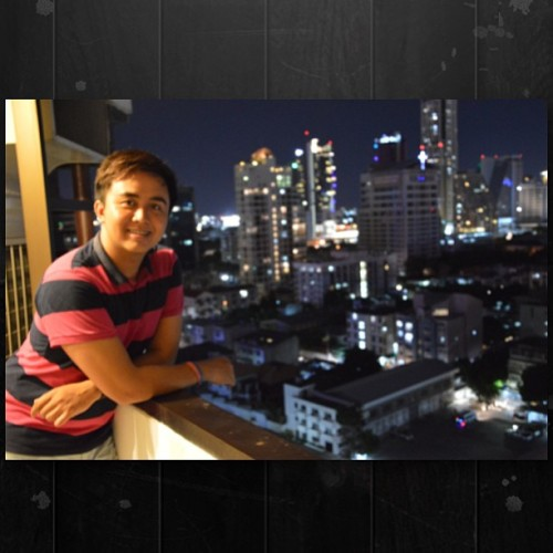 Good night Bangkok! :) (at Furama Silom)