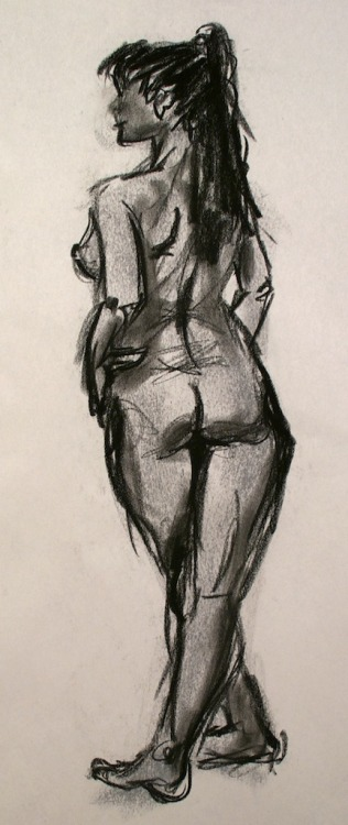 Butts are probably one of my favourite things to draw.  Dec 2012
