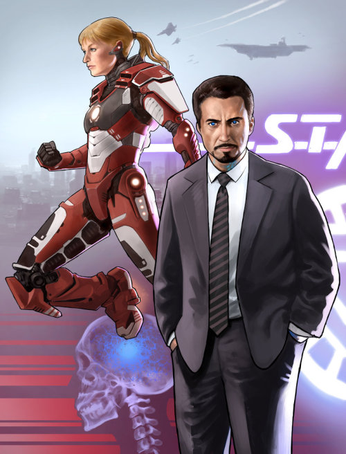 super-hero-center:  More Iron Man! by ~Jedi-Art-Trick