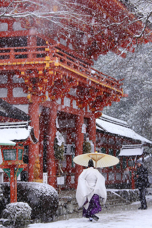 cornersoftheworld:  Winter In Japan via hatena