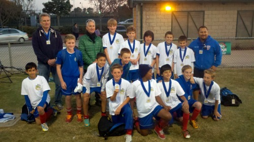 Costa Mesa Classic: U12 team coached by Saul Hernandez!