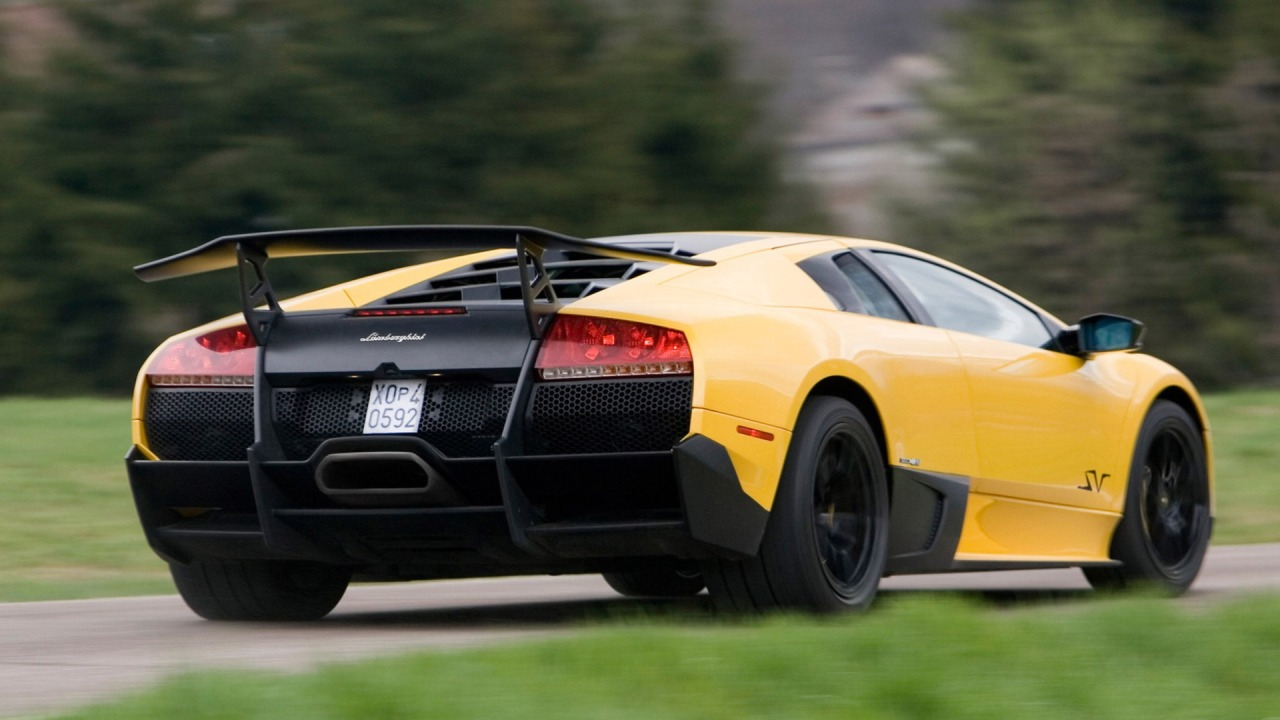 Lamborghini murcielago lp670-4 SV on hd wallpapers