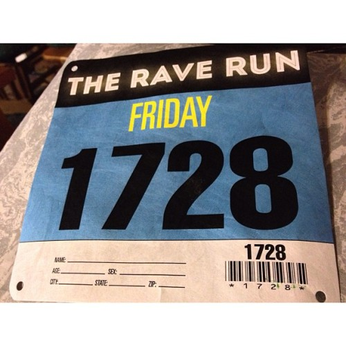 First Rave. First Run. First Rave Run.