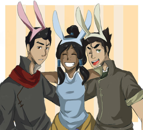korranation:  Happy Easter! <3 Team Avatar Via ~Jynxie101