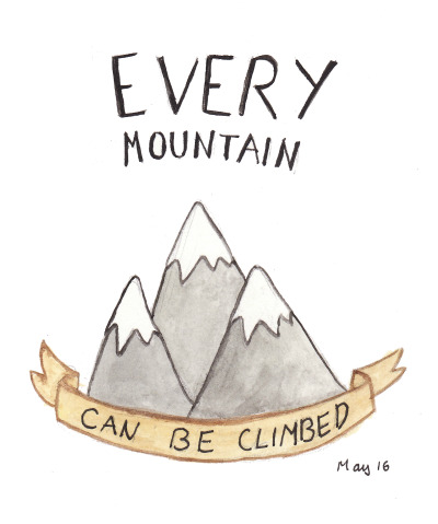 110/365 every mountain can be climbed :)