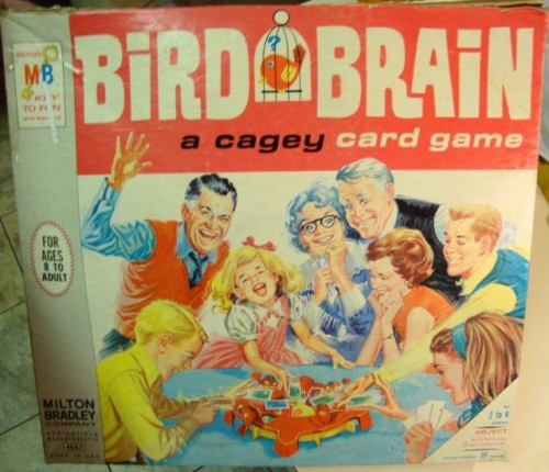 vintagetoyarchive:  MILTON BRADLEY: 1966 Bird Brain Cagey Card Game