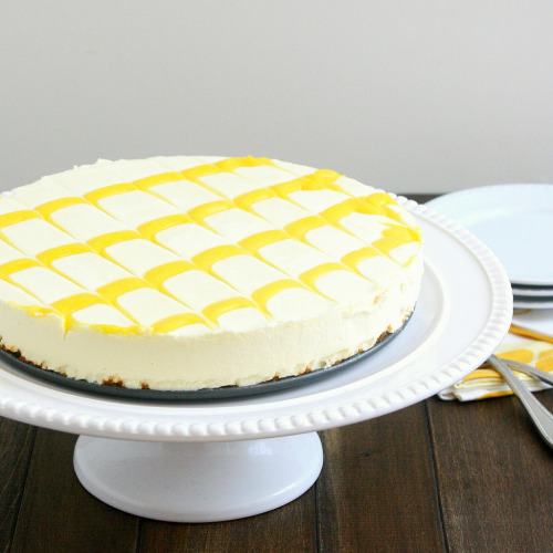 Lemon Icebox Cheesecake by Tracey's Culinary Adventures