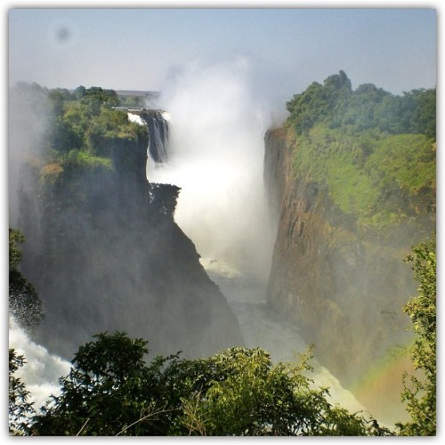 Seriously, everybody should experience #VictoriaFalls #Zimbabwe at least once in their life.