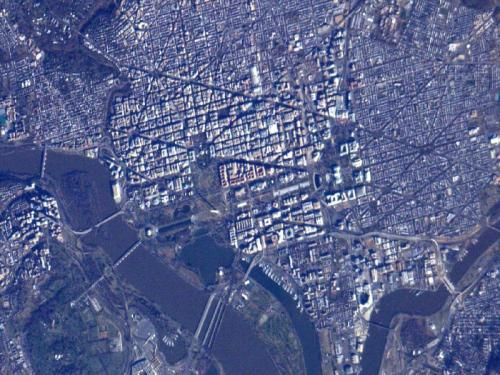 DC. From SPACE. Specifically, the ISS.