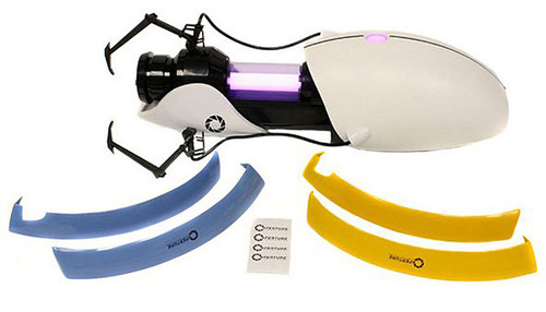 laughingsquid:  Customizable Aperture Science Handheld Portal Device