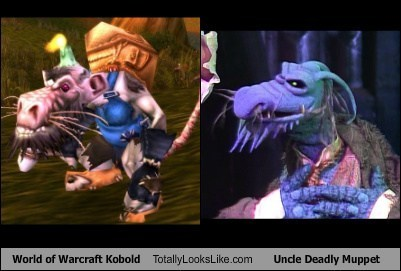 World of Warcraft Kobold Totally Looks Like Uncle Deadly Muppethttp://meme-apartman.tumblr.com