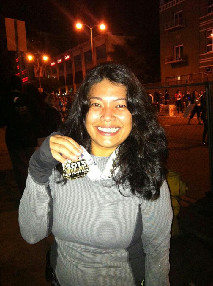 New Year's Race 2013: Los Angeles At Night. My first race of 2013. Exhilarating!
