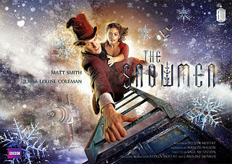 "'Doctor Who': Win a Signed 'Snowmen' Poster from Anglophenia We're well into the first month of Doctor Who's 50th anniversary year, and BBC AMERICA is celebrating this milestone with the launch of its Doctor Who: The Doctors Revisited series. In its first installment on Sunday, January 27 at 9/8c, the channel will air the 1964 serial ""The Aztecs,"" which featured First DoctorWilliam Hartnell. And to honor the 50th, we're giving one winner a piece of recent Who history — a poster of the Doctor Who Christmas special The Snowmen, signed by starsMatt Smith and Jenna-Louise Coleman, executive producer Caroline Skinner, and lead writer/executive producer Steven Moffat. Click through for details on how to enter."