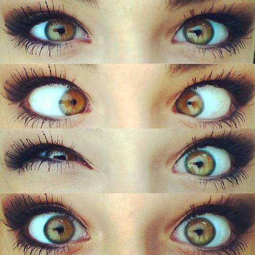 #eyes #pretty #hazel #cute #makeup #weird