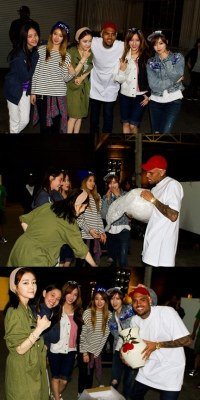 T-ara N4 & Chris Brown