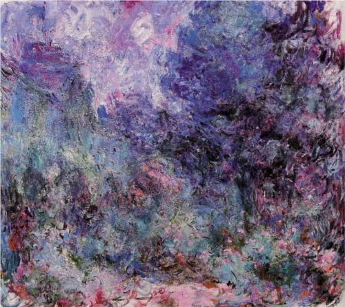 The House Seen from the Rose Garden 3 - Claude Monet