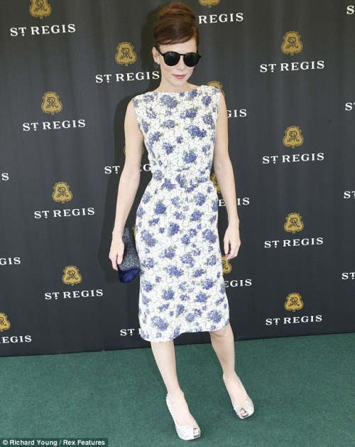 Anna Friel at the St Regis cup