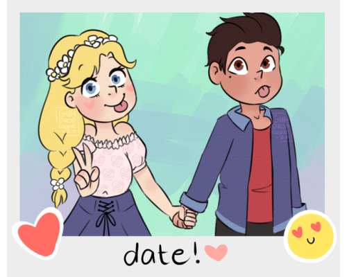 i havent drawn in a while at all svtfoe svtfoe ships starco star butterfly marco diaz my stuff