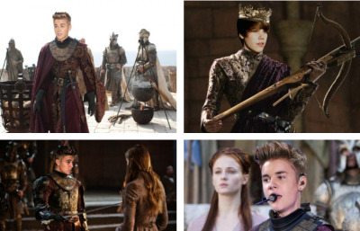 collegehumor:  10 Examples of Joffrey Bieber: The Most Hated Person Alive Brace yourselves, Bieber is coming. Thine Beliebers are colder and harsher than any winter ye shall ever know. What happens when you mix the most hated pop star with the most loathed Game of Thrones character? The worst. That's what happens. via joffreybieber