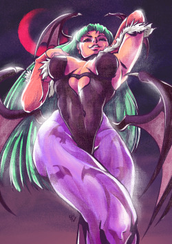 Morrigan Aensland by CHTVAs found at